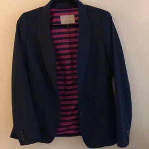 Two-button Banana Republic lines jacket navy